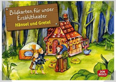 Kamishibai Bildkartenset Hänsel und Gretel - Bildkarten für unser Erzähltheater