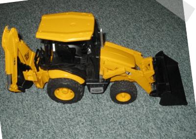 Spielsachen - Bagger