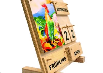 Standwinkel mit Kalender